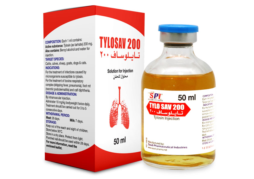 Tylosav 200 - 50ML